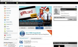 Screenshot of my Swagbucks Account. As you can see, I have redeemed 9 gift cards since I started using the site.