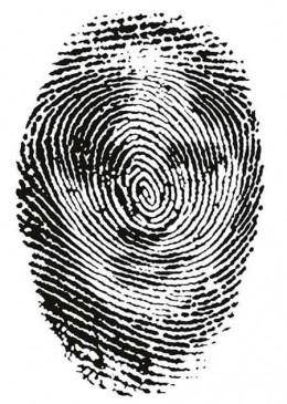 Everyone has unique fingerprints, just like faces. Except even identical twins have different fingerprints.