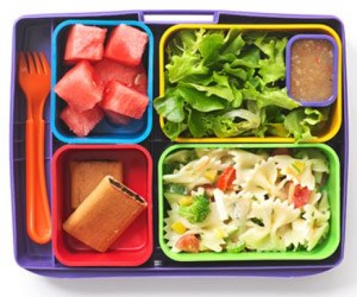 Healthy school lunch options