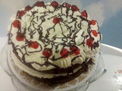 Chocolate & Cream Victory Layer Cake Lost Recipe