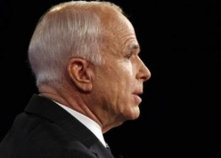 Looking Arrogant...Esteemed U.S. Senator John McCain, national war hero and legislative statesman displayed unbelievable pettyness and immaturity for a man of his seasoned years.