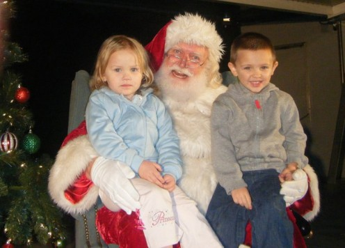 For children all over the world, the holiday season would not be complete without being able to climb up onto Santa's lap during a traditional visit to whisper their Christmas wishes in his ear