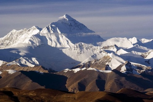 Everest's challenging North Face