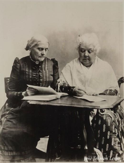 Susan B. Anthony and Elizabeth Stanton, Women's Suffragists