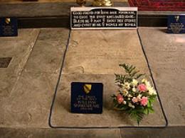 Shakespeare's grave.