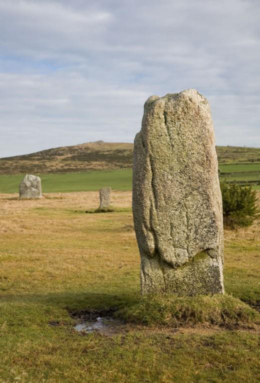 Ancient standing stones