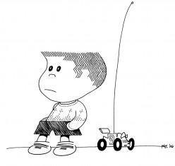 Hairingbone Herbie and His R.C. Cubster