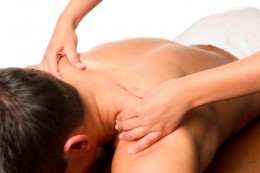 Massage helps de-stress the body and can be beneficial for trauma release.