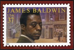 Although this is a 2004 postcard, the USPS dedicated a postage stamp in Baldwin's honor in 2005.