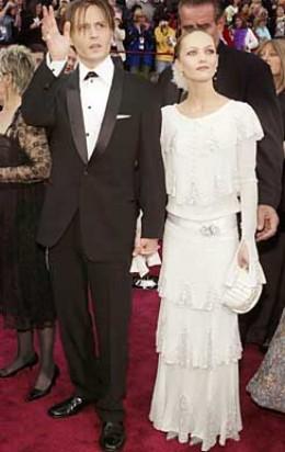 Vanessa Paradis and Johnny Depp