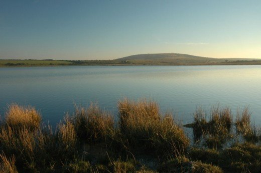 Dozmary Pool on Bodmin Moor