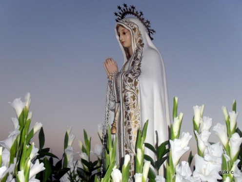 The fiesta in the hamlet of Guaro is in honour of Our Lady of Fatima.