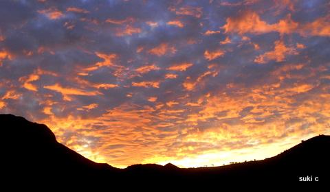 Sunrise - taken from my terrace.