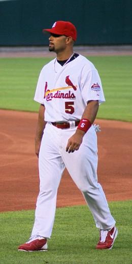 Albert Pujols, St. Louis Cardinals, Number 5