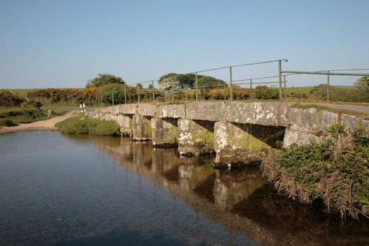 Delford Bridge on Bodmin Moor