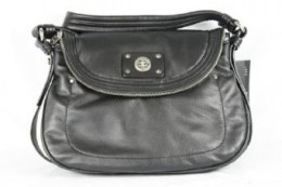 Marc Jacobs Turnlock Natasha Purse Black