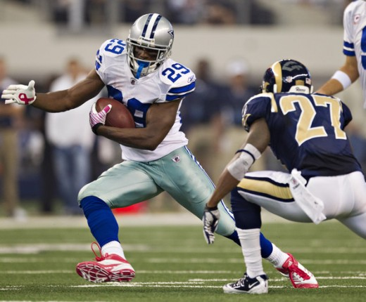 DeMarco Murray was held in check for the most part last week.  He'll look to get back on track this week against Miami