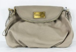 Marc Jacobs Classic Q Natasha Purse Bag Cement