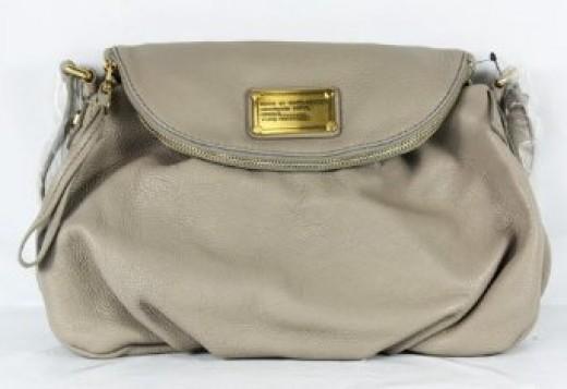 Marc Jacobs Classic Q Natasha Purse Bag Cement
