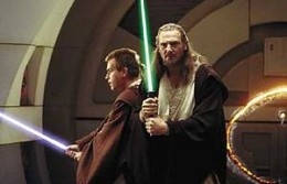 Qui-Gon Jinn and Obi Wan.