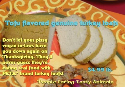 PETA loafs at Food Czar!