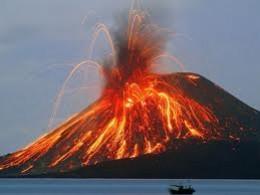 Volcanic fire, representing the depth of emotion the Greek god Hephaestus keeps bottled up