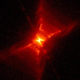 Red Rectangular Nebula - a bipolar nebula and a protoplanetary nebula.