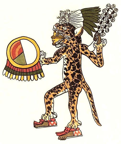 Aztec Jaguar Warrior, an important and successful class of warrior.