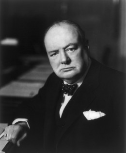 Winston Churchill: 'No hour of life is lost that is spent in the saddle'