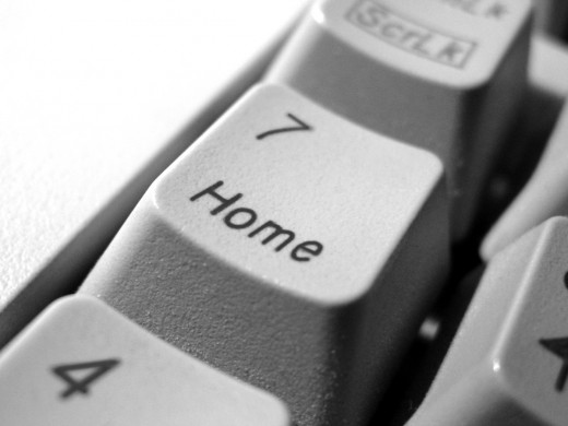 There's no place like  home & as a successful internet marketer, you'll almost never have to leave!