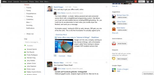 There's a (Create a Google+ Page) Icon there below (bottom right corner of page)