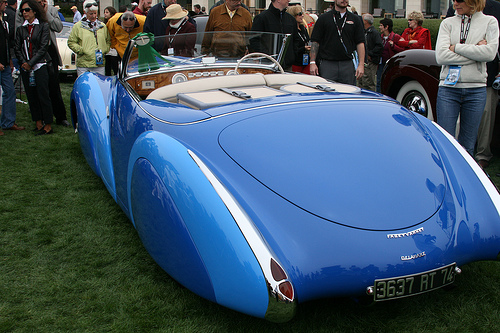 1948 Delahaye 135MS Faget-Varnet Cabriolet - this won best in class