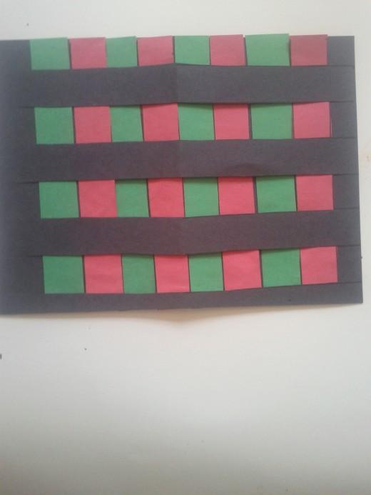 Mkeka (Mat) Kwanzaa symbol