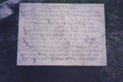 Epitaph of Gracie Watkins