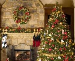 The Christmas tree is a symbol of Christmas seen in most households today.