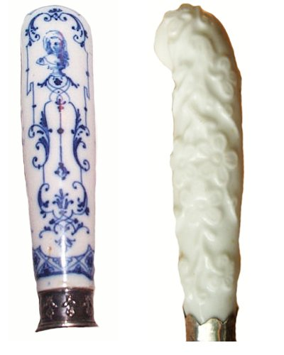 Porcelain fork handles: St Cloud C1710 & Chelsea C170
