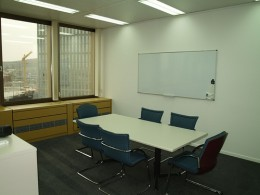 Simple meeting room where you can find yourself in an interview