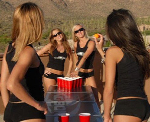 Beer Pong Girls