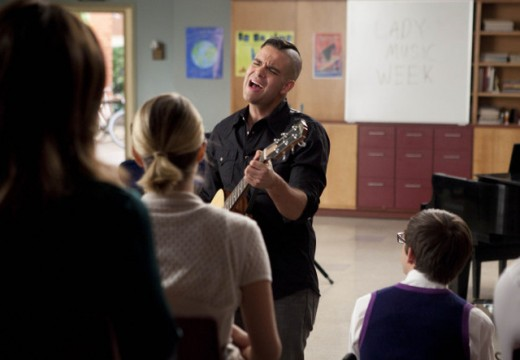"""Glee"" uses the power of music to charm viewers."