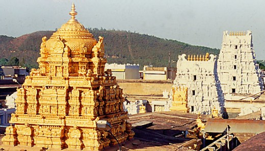 Sri venkateswara temple - Places to see in Tirupati
