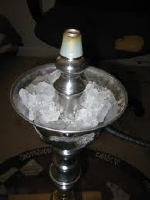 Hookah Ice chamber