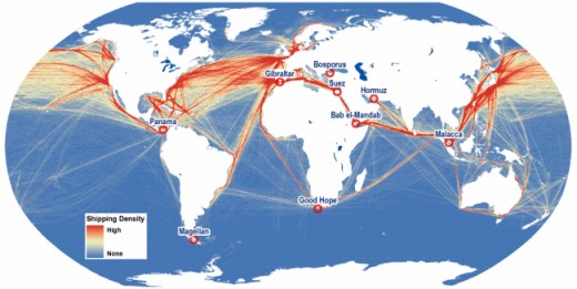 Global Maritime Transport Network