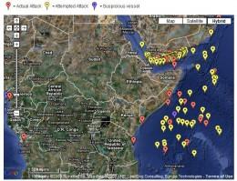 Maritime Piracy Map