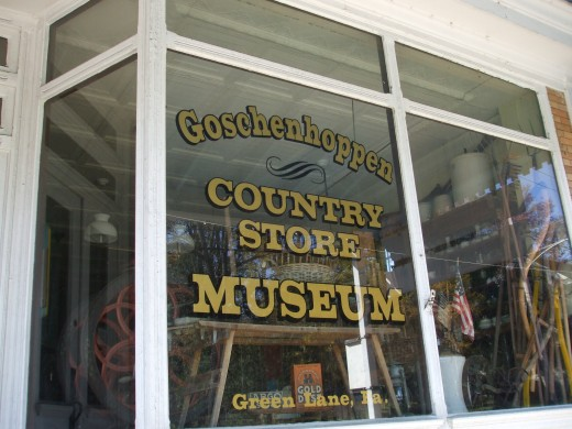What wonders existed in the Pennsylvania German country store of the 1800's!