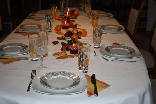 Autumn Table Decoration