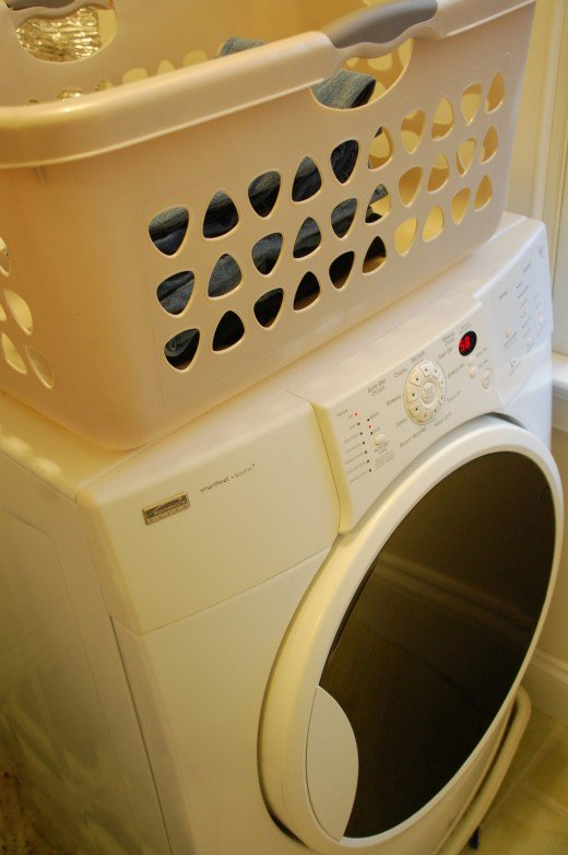 Make a habit out of laundry by doing a little bit each day at the same time