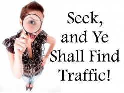 Yahoo! Answers - Seek, and Ye Shall Find Traffic!