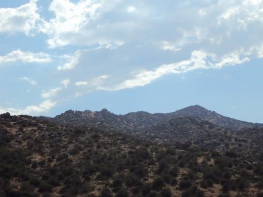 A photo of the Pinnacles in the San Bernardino Mountains.