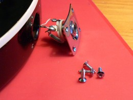 New screws give a tidy finish to your work
