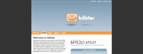 Billster Screenshot